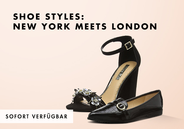 Shoe styles: New York meets London