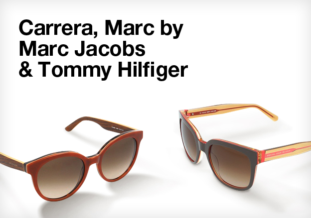 Carrera, Marc by Marc Jacobs & Tommy Hilfiger