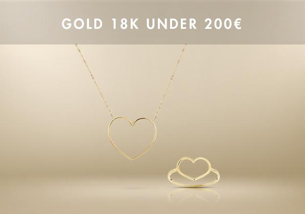 Gold 18K under 200€!
