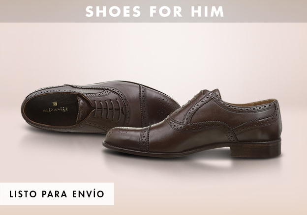 Shoes for him!