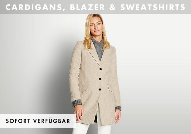 Cardigans, Blazer & Sweatshirts