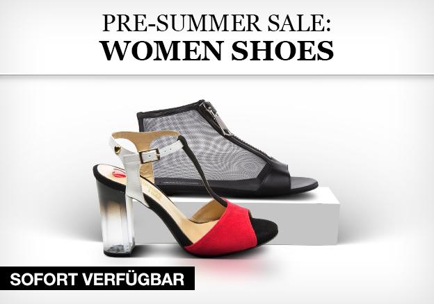 Pre-summer Sale: Women shoes