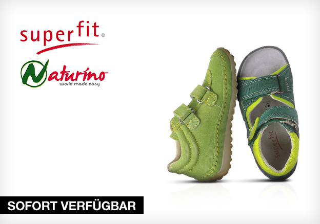 Superfit and Naturino Kids shoes