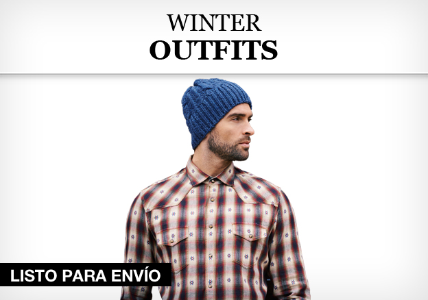 Winter Outfits hombre