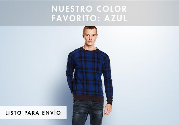Nuestro color favorito: azul!