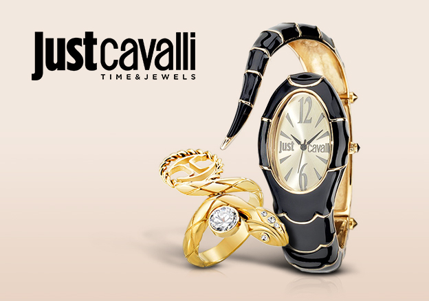Just Cavalli Watches & Jewelry!
