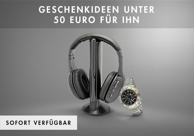 Geschenkideen unter 50 Euro für Ihn