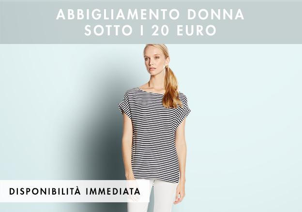 Abbigliamento donna sotto i 20 euro