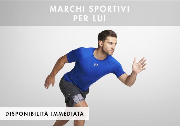Asics, La Sportiva: marchi sportivi per lui