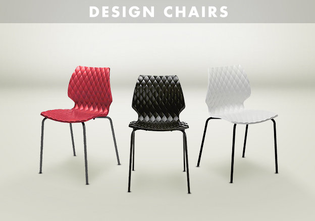 Pedrali, Arper, Herman Miller and more Design Chairs