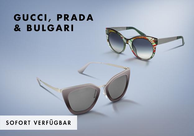 Gucci, Prada & Bulgari