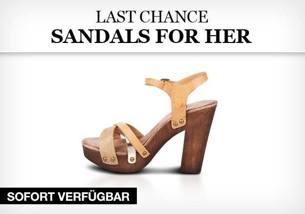 Last chance - sandals for her