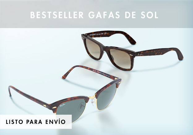 Ray-Ban, Diesel: Bestseller gafas de sol!