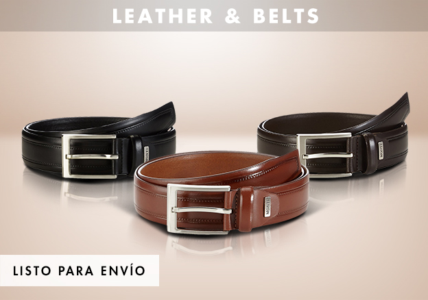 Leather & Belts!