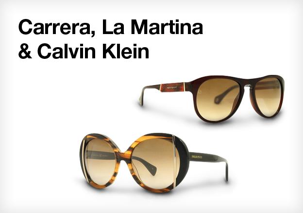 Carrera, La Martina & Calvin Klein!