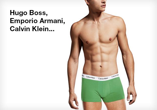 Hugo Boss, Emporio Armani, Calvin Klein...