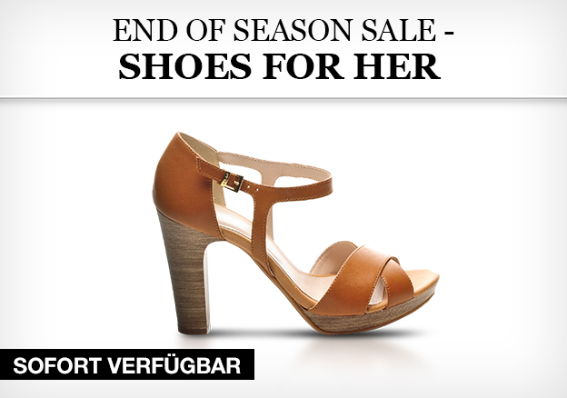 End of season sale - shoes for her