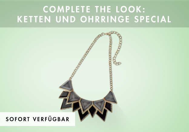 Complete the look: Ketten und Ohrringe Special bis -70%