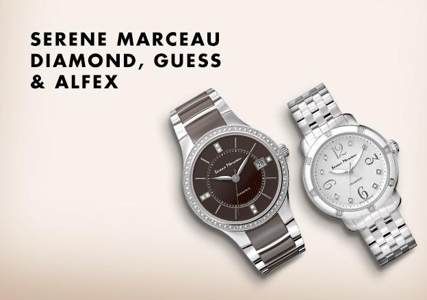 Serene Marceau Diamond, Guess & Alfex