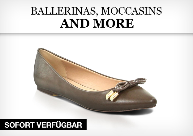 Ballerinas, Moccasins and more