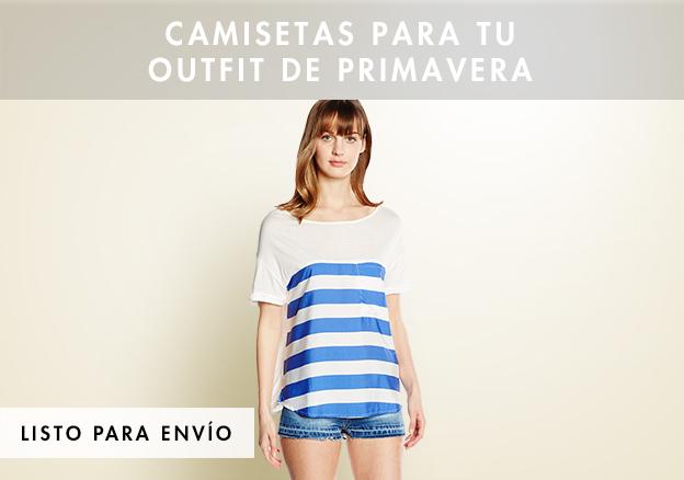 Camisetas para tu outfit de Primavera