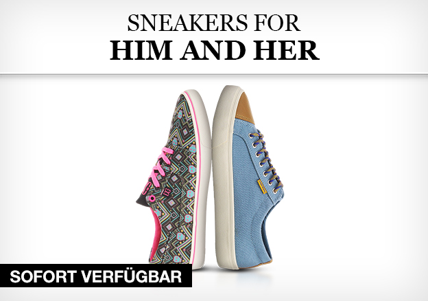 Sneakers for him and her