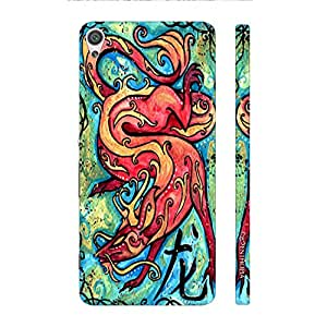 Enthopia Designer Hardshell Case CHINESE ZODIAC DRAGON Back Cover for Sony Xperia X