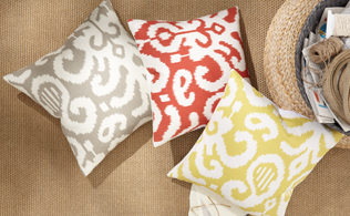 Instant Update: Throw Pillows!