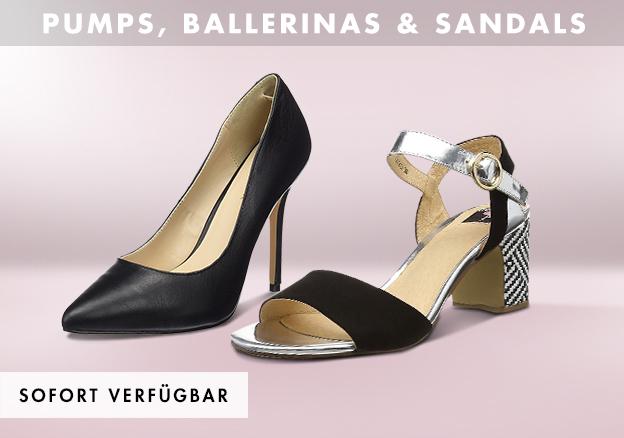 Pumps, Ballerinas & Sandals