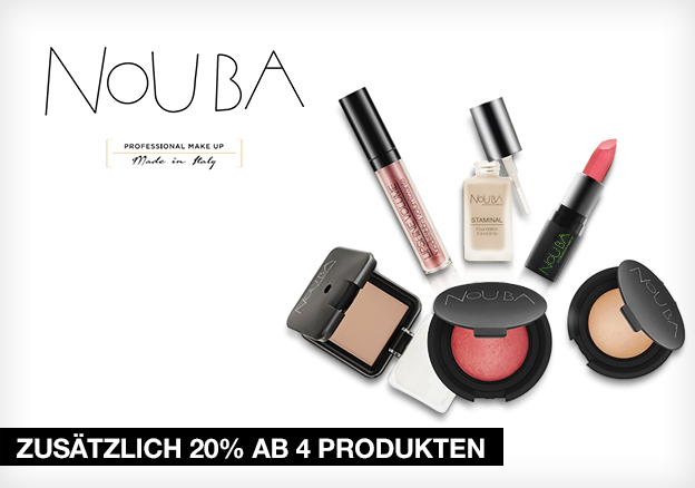 NOUBA: zusätzlich 20% ab 4 Produkten