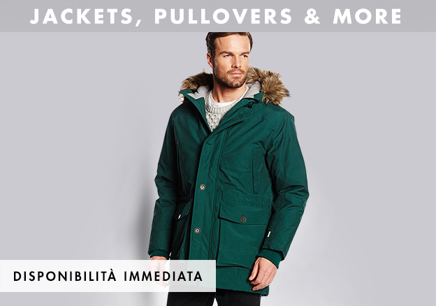Jackets, pullovers & more!