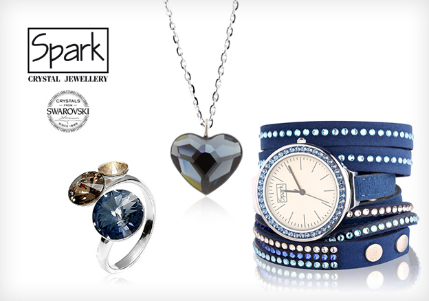 Spark with Crystals from Swarovski