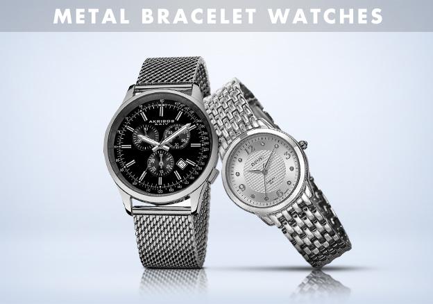 Metal Bracelet Watches