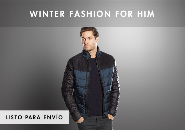 Winter Fashion for Him up to -70%!
