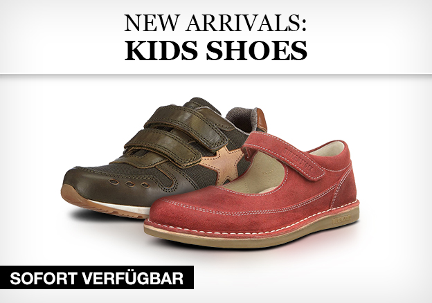 New arrivals: Kids shoes