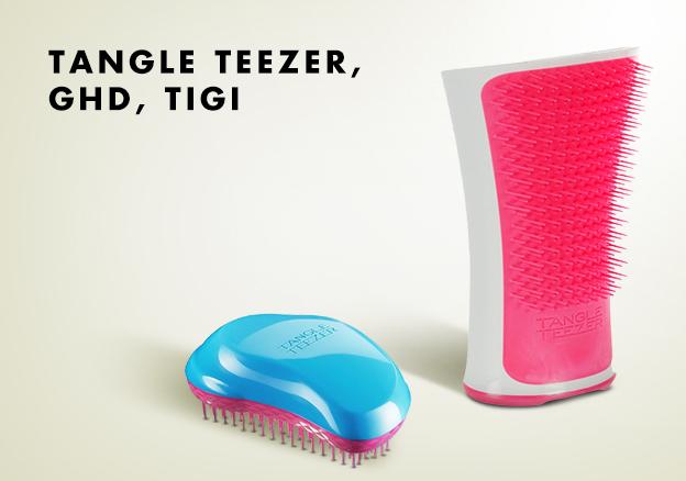 Tangle Teezer, GHD, Tigi