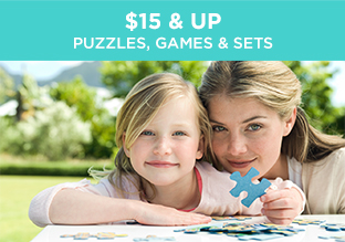 $15 & Up: Puzzles, Games & Sets