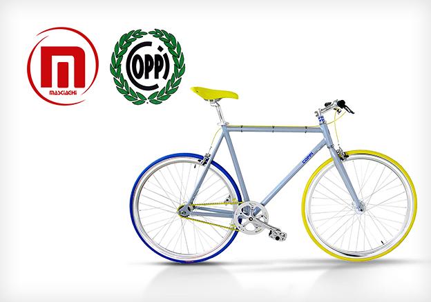 Cicli F.lli Masciaghi: Gianni Bugno & Fausto Coppi
