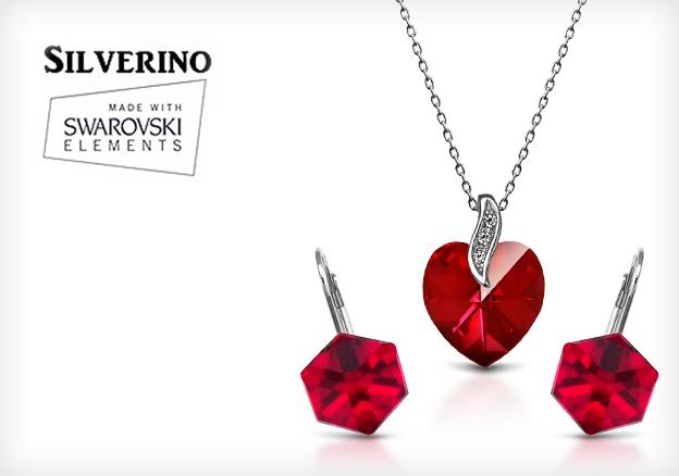 Swarovski Elements by Silverino