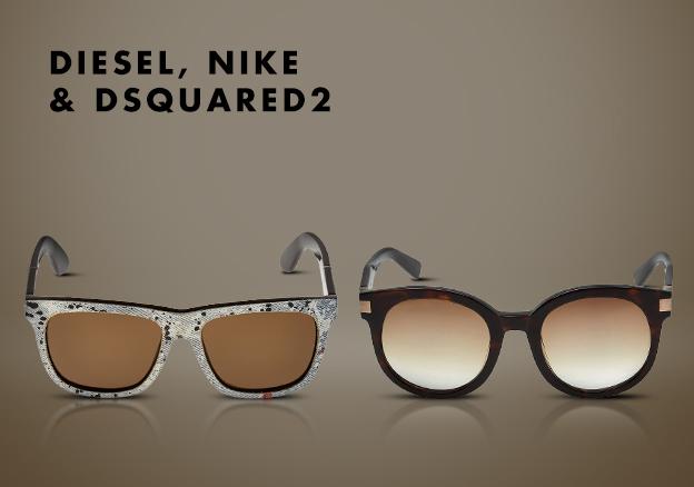 Diesel, Nike & DSquared2!