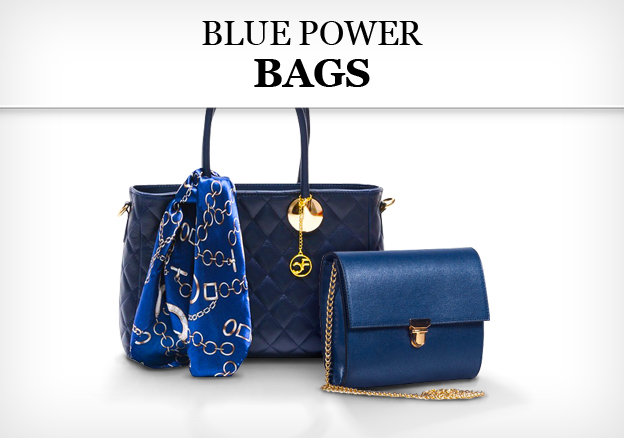 Blue Power: Bags
