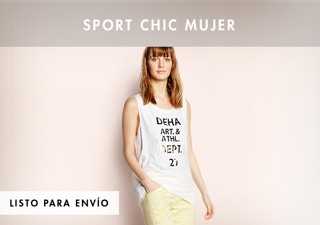 Sport chic mujer