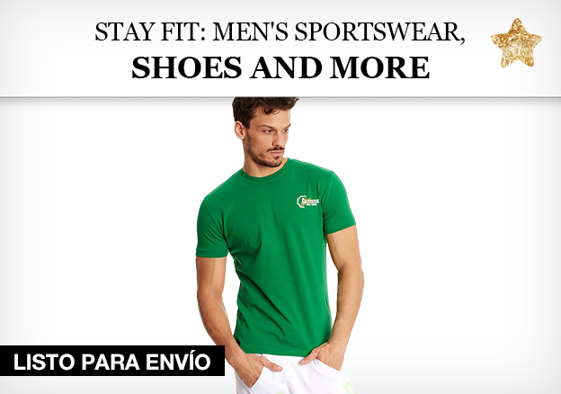 Stay fit: Sportswear, shoes and more