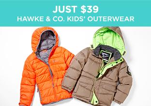 Just $39: Hawke & Co. Kids' Outerwear