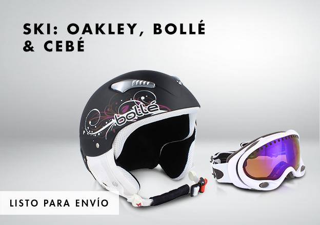 Ski: Oakley, Bollé & Cebé!