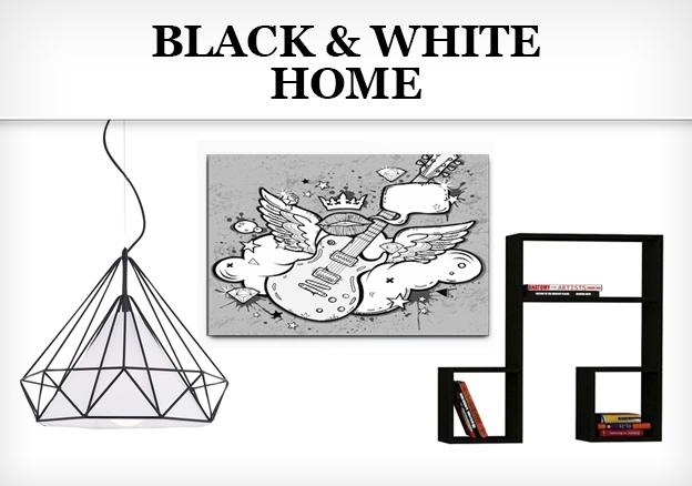 Black & White Home