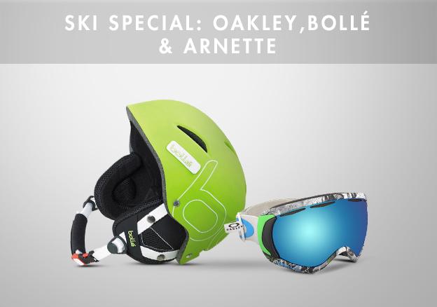 Ski Special: Oakley,Bollé & Arnette!