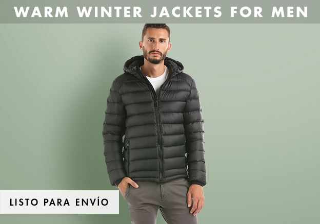 Warm Winter Jackets for Men!