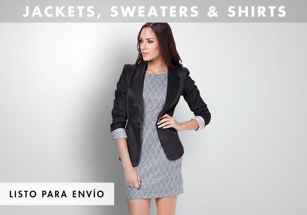 Jackets, Sweaters & Shirts