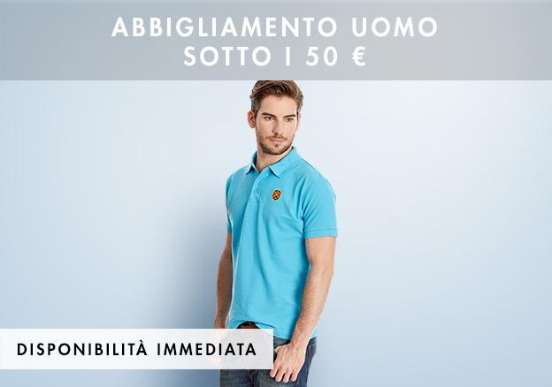 Abbigliamento uomo sotto i 50 Euro!